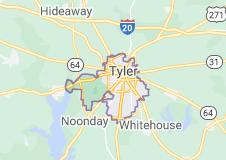 tyler tx map